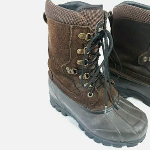 LaCrosse Thinsulate Hunting Leather Duck Boots 9